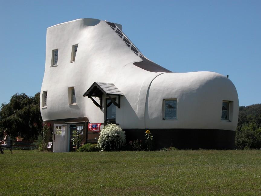 Το σπίτι-παπούτσι (91.500 ευρώ)