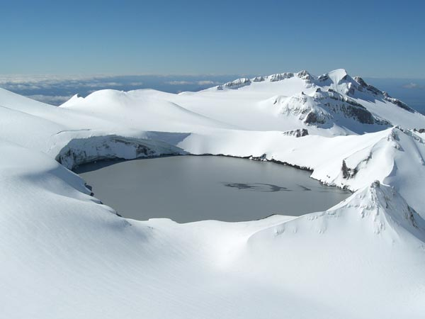 Crater Lake, Mount Ruapehu