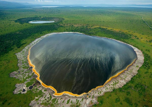 Crater Lakes in the Albertine Rift