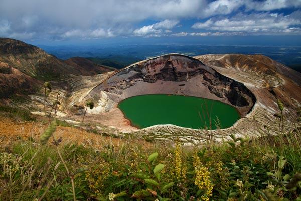 Crater Lake (Okama), Mt. Zao