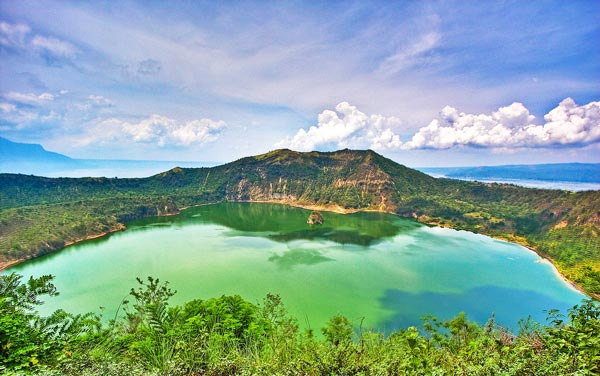 Vulcan Point within Crater Lake, Taal Volcano