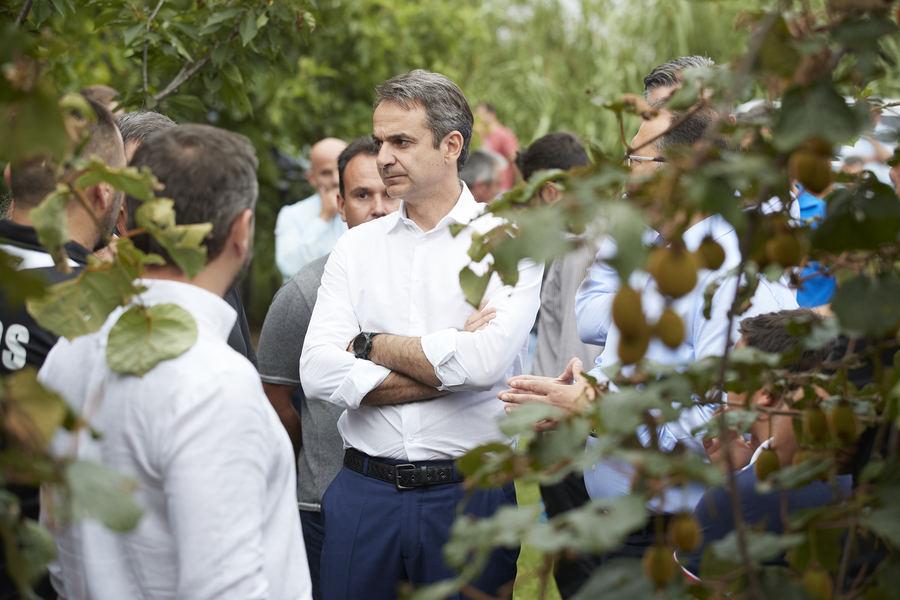 Μητσοτάκης από Άρτα Θα μειώσουμε τους φόρους για κάθε Έλληνα και για τους αγρότες