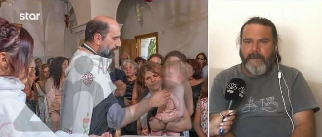 Εικόνες από τη βάφτιση της Εμμανουέλας
