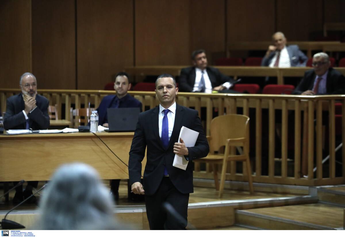 Δίκη Χρυσής Αυγής Ξεκινάει η απολογία του Ηλία Κασιδιάρη